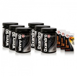 Anabolic Stack dry weight